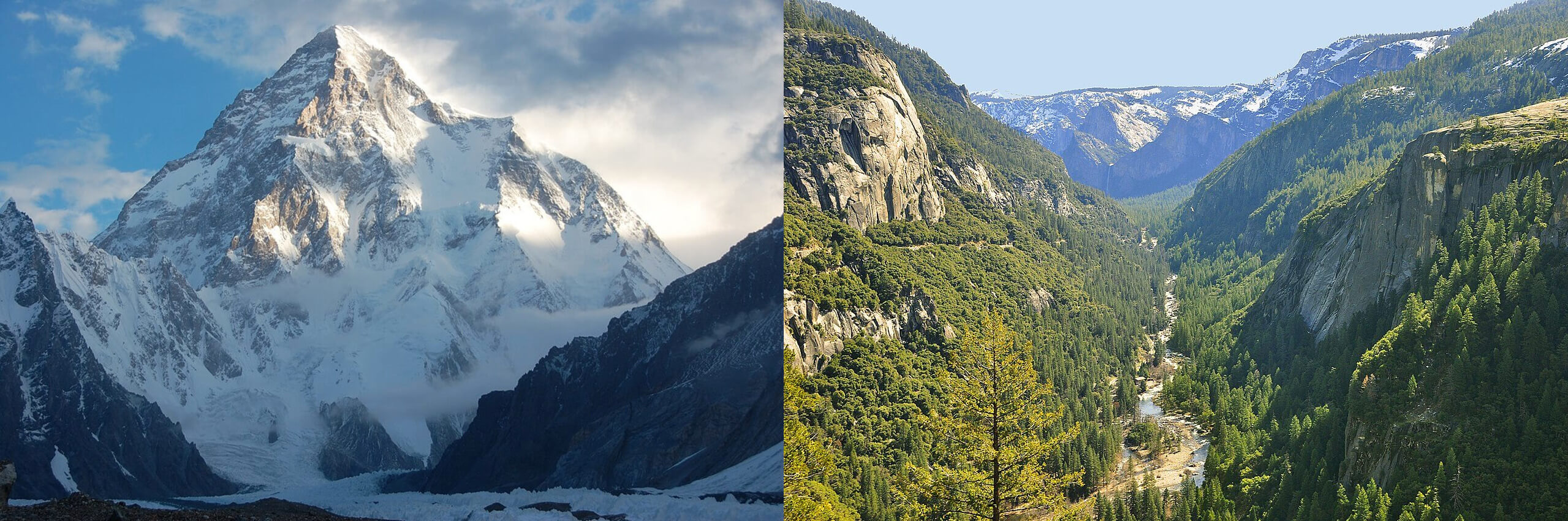 Difference Between Mountain and Valley