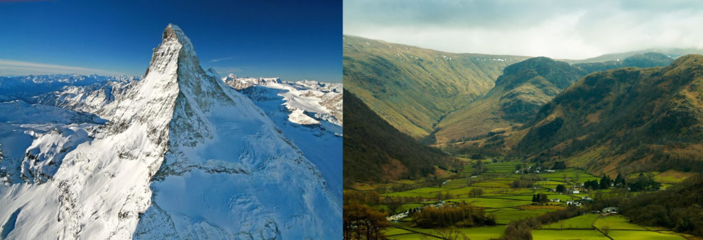 Other Differences Between Mountains and Valley